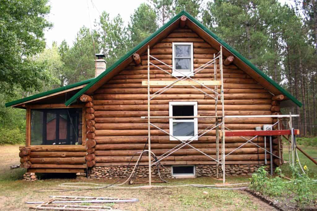 Required Maintenance for Log Cabins