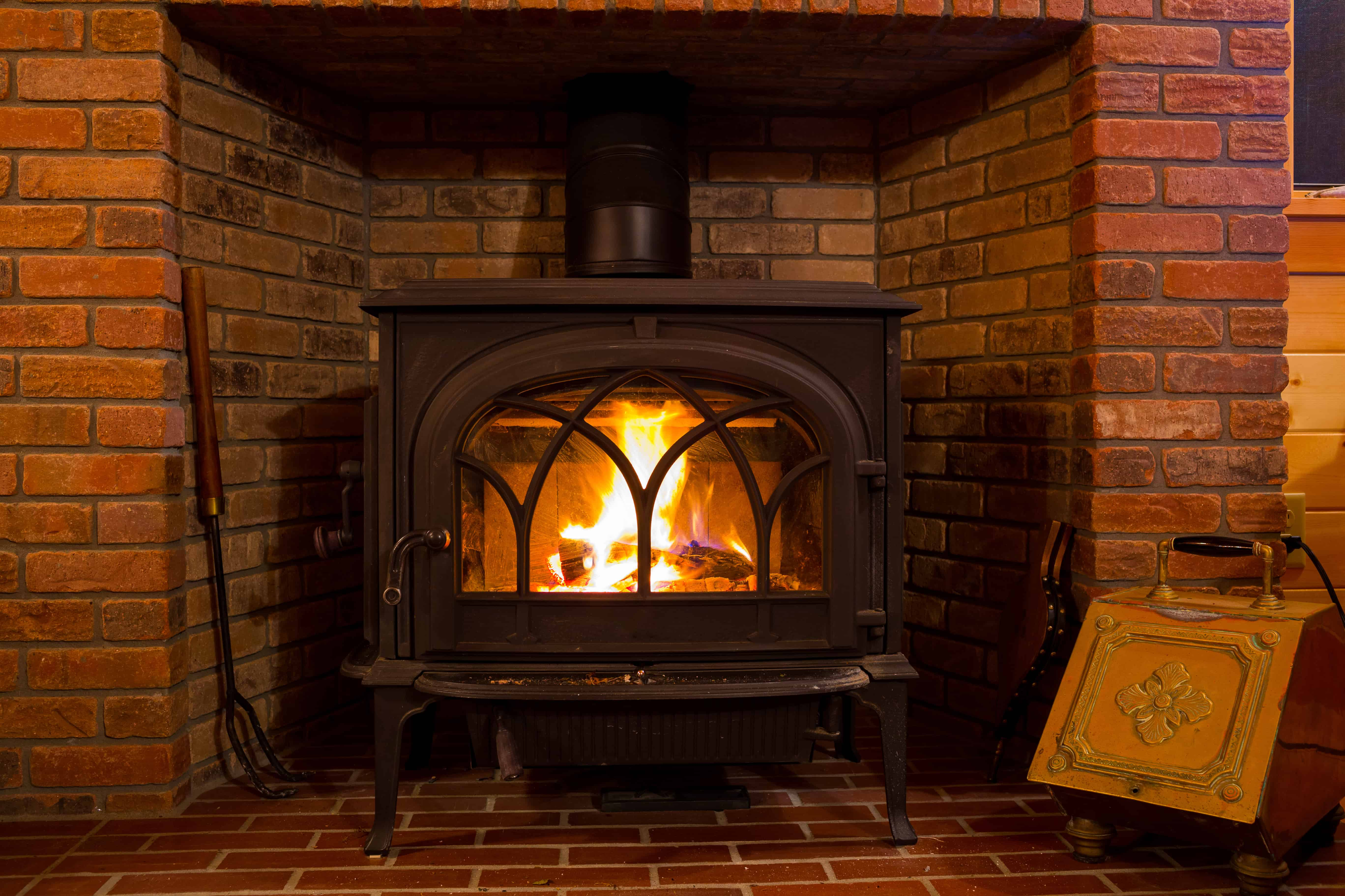 Fireplace Vs Wood Burning Stove For A Cabin Outdoor Troop