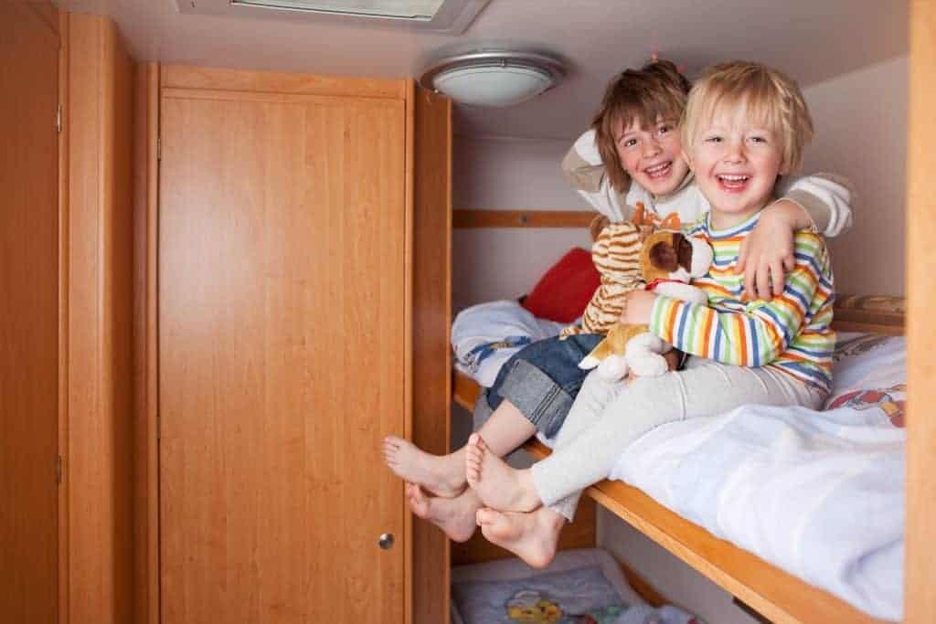 9 Best Campers with Bunkbed Floorplans We've Ever Seen