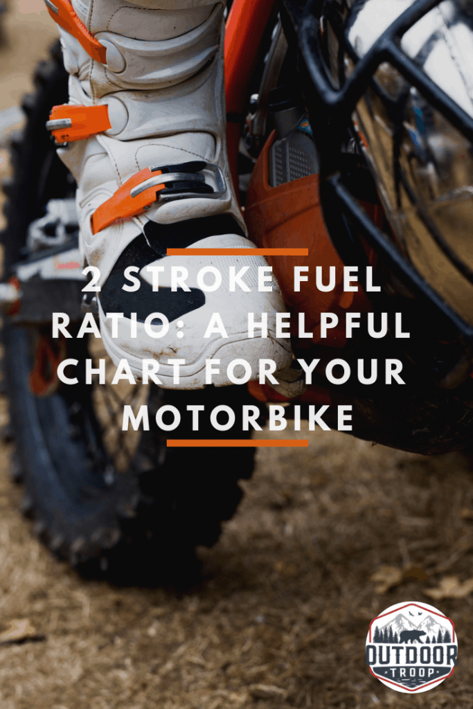 2-Stroke Fuel Ratio: A helpful chart for your motorbike