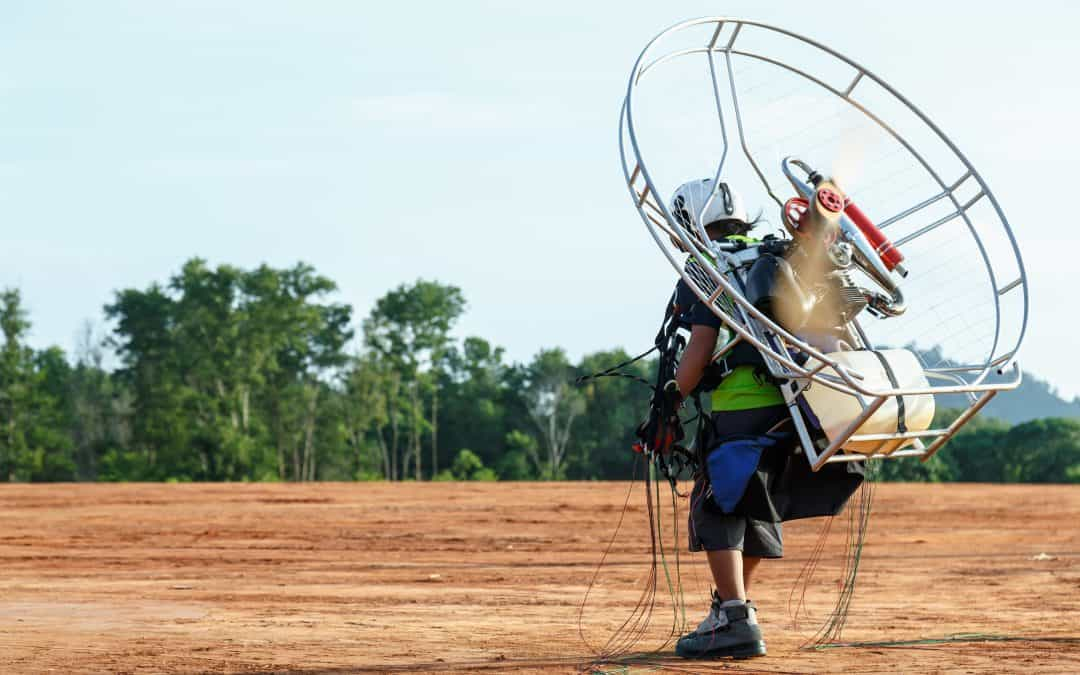 What if a Paramotor Engine Quits in the Air?
