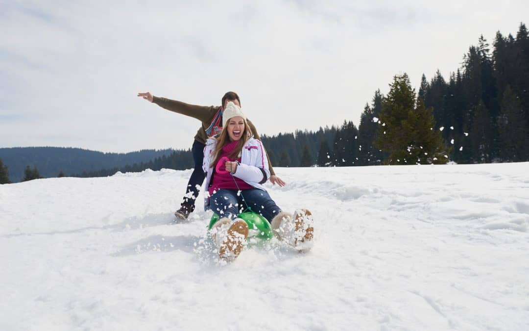 Average Number of Calories Burned During 1 Hour of Sledding
