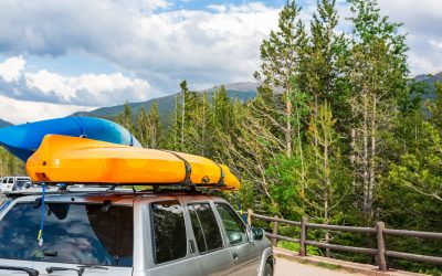 How to Tie a Canoe to an SUV