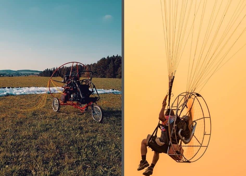 Is a Paramotor Trike Safer than Foot Launching?