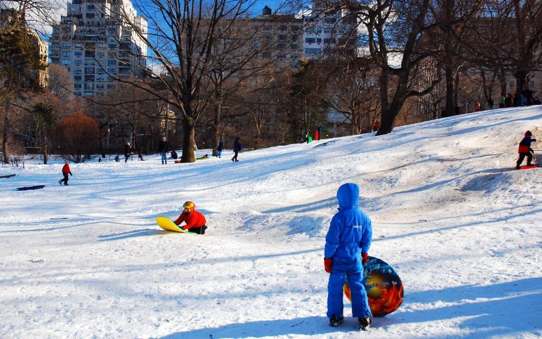 9 Perfect Sledding Spots in Queens