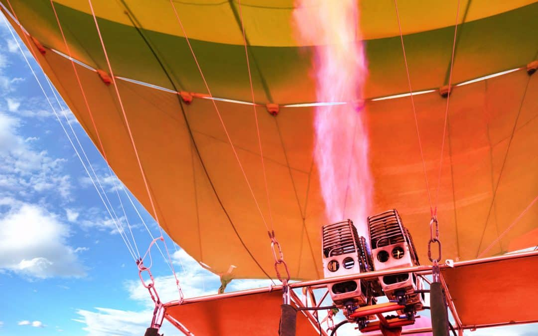 How Much Fuel Does a Hot Air Balloon Use?