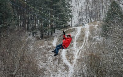 Can You Zipline While It's Snowing?