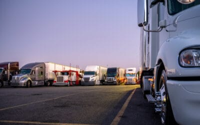 Can RVs Stay at Truck Stops?